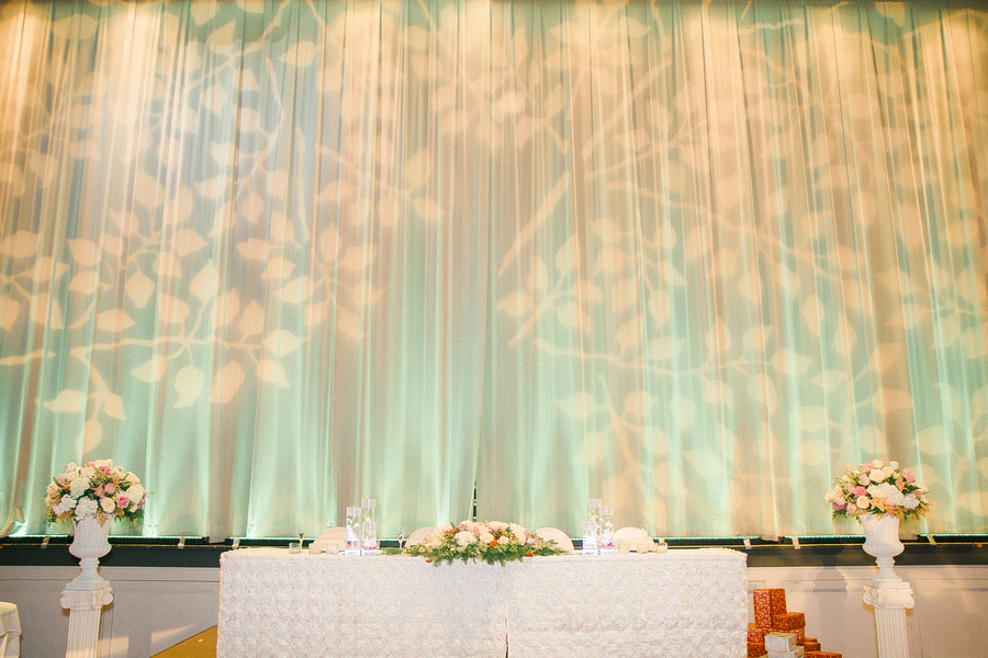 EMERALD GREEN AND CHAMPAGNE WEDDING